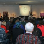 The Crowd at Lynn's Artist Talk at the Thunder Bay Art Gallery