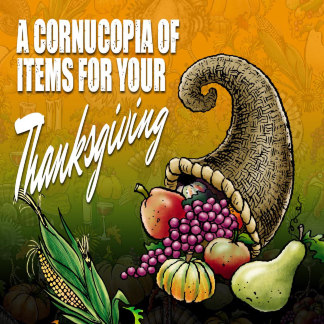 Thanksgiving items from our Zazzle store