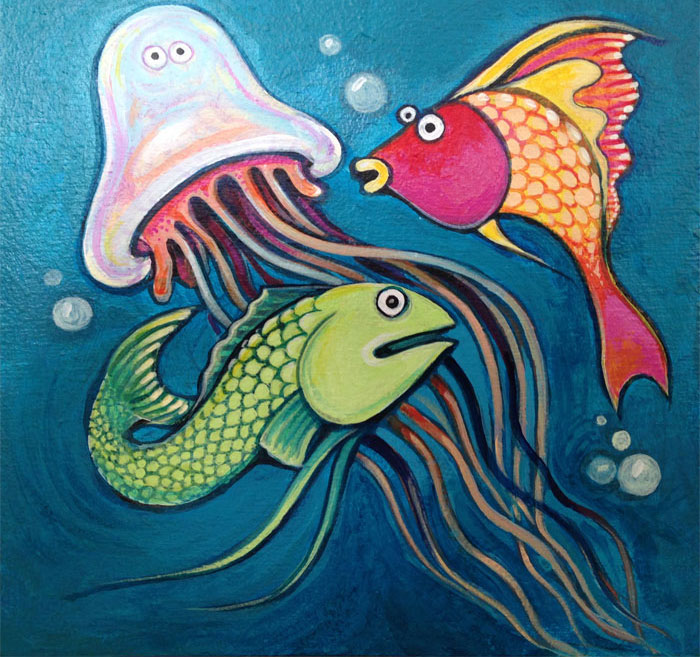 Fish and Octopus