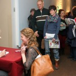The Book Signing Line at the Thunder Bay Art Gallery