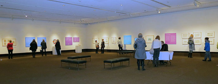 The Exhibit, Installed at the Thunder Bay Art Gallery