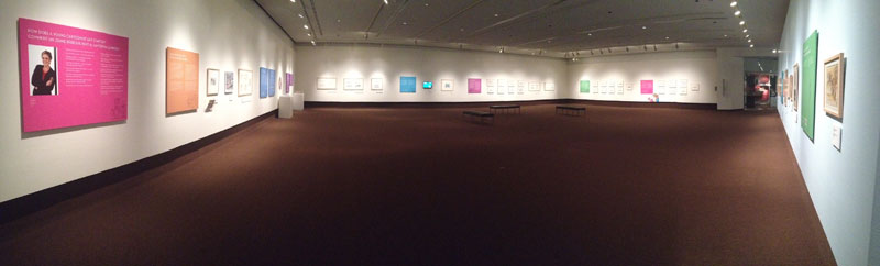 Panorama: Lynn's Show at the Art Gallery of Thunder Bay