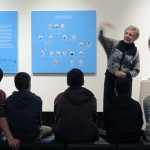 Speaking to Students at the Thunder Bay Art Gallery