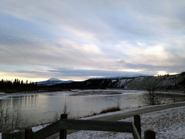 The Whitehorse River