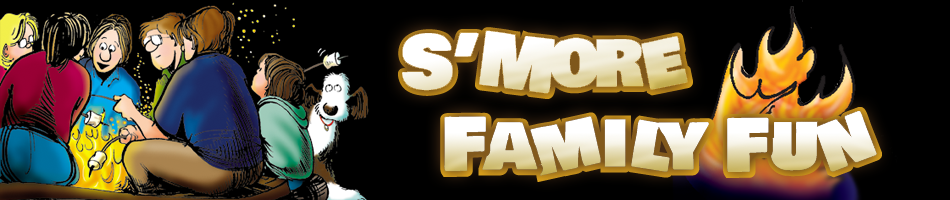 S'More Words Header Graphic: Click to Play