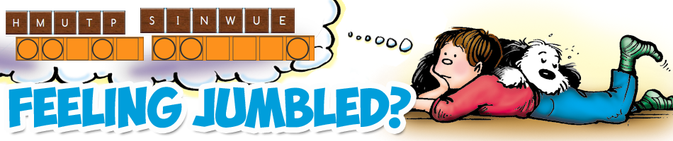 Jumble Game Header Graphic - Click to Play